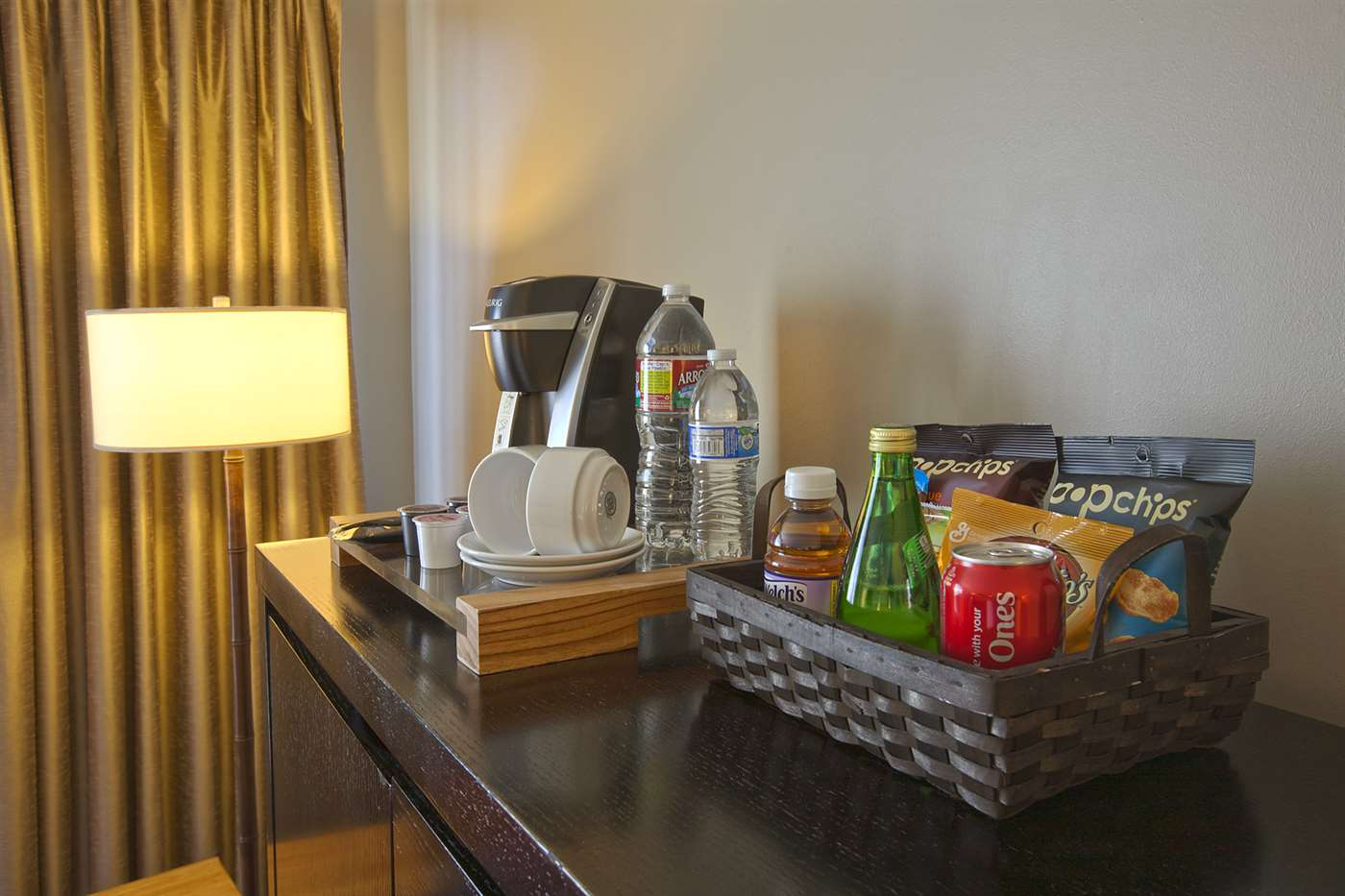 Snacks and Amenities