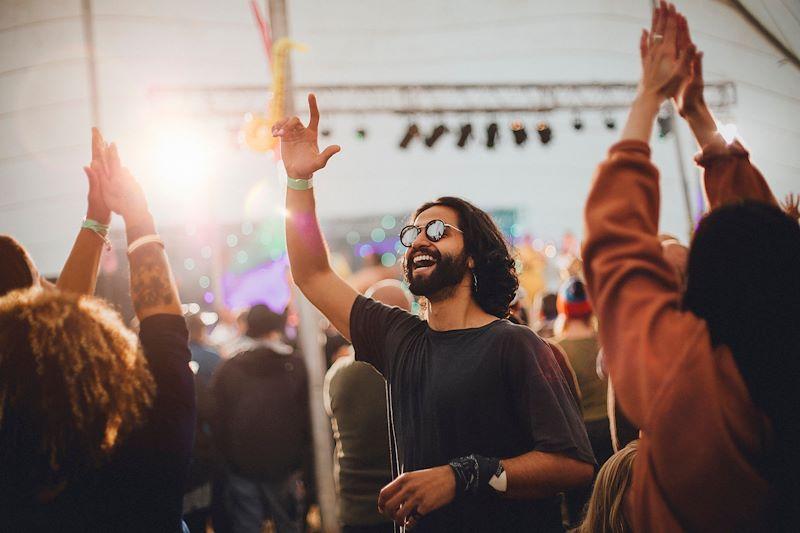 Festival guy at Outside Lands